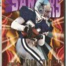 DEION SANDERS 1997 Skybox Impact #150.  COWBOYS