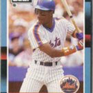 DARRYL STRAWBERRY 1988 Leaf #220.  METS