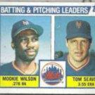 TOM SEAVER 1984 Topps #246 w/ Mookie.  METS