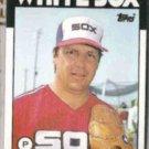 TOM SEAVER 1986 Topps #390.  WHITE SOX