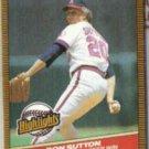 DON SUTTON 1986 Donruss Highlights #16.  ANGELS