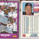 DON SUTTON (2) 1988 Score #105.  ANGELS