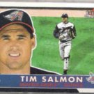 TIM SALMON 2001 Fleer Tradition #211.  ANGELS
