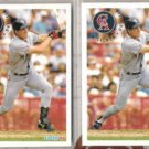 TIM SALMON (2) 1994 Fleer #69.  ANGELS