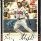 GARY SHEFFIELD 2002 Bowman #48.  BRAVES