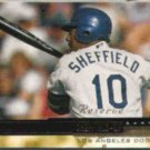 GARY SHEFFIELD 2000 Upper Deck Gold Reserve Ins.  DODGERS