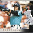 GARY SHEFFIELD 1997 Pinnacle Xpress #80.  MARLINS