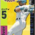 GARY SHEFFIELD 1995 UD CC Crash / Game Silver Insert #CG18.  MARLINS