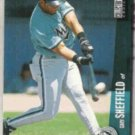 GARY SHEFFIELD 1996 Upper Deck CC #560.  MARLINS