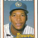 GARY SHEFFIELD 1989 Topps Future Star #343.  BREWERS