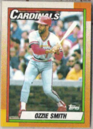 OZZIE SMITH 1990 Topps #590.  CARDS