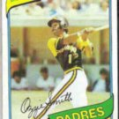 OZZIE SMITH 1980 Topps #393.  PADRES