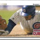 SAMMY SOSA 1992 Upper Deck #723.  CUBS