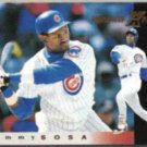 SAMMY SOSA 1997 Pinnacle Xpress #73.  CUBS