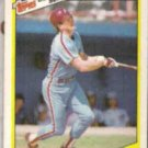 MIKE SCHMIDT 1987 Topps Highlights #8 of 33.  PHILLIES