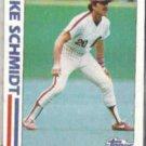 MIKE SCHMIDT 1982 Topps In Action #101.  PHILLIES