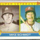 MIKE SCHMIDT 1983 Topps Super Veteran #301.  PHILLIES