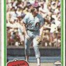 MIKE SCHMIDT 1981 Topps #540.  PHILLIES