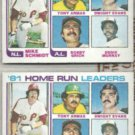 MIKE SCHMIDT (2) 1982 Topps #162 w/ Murray, Grich++.  PHILLIES