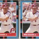 MIKE SCHMIDT (2) 1988 Donruss #330.  PHILLIES