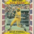 WILLIE STARGELL 1992 Kellogg's Sportflics #1 of 10.  PIRATES