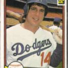 MIKE SCIOSCIA 1982 Donruss #598.  DODGERS
