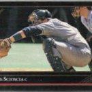 MIKE SCIOSCIA 1992 Leaf Black GOLD Insert #165.  DODGERS