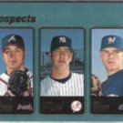 BEN SHEETS 2001 Topps Prospects #364.  BREWERS
