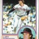 LARRY SORENSEN 1983 Topps #48.  INDIANS