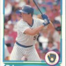BJ SURHOFF 1988 Score Young Star #8 of 40.  BREWERS