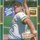 BJ SURHOFF 1987 Donruss The Rookies #17.  BREWERS
