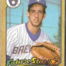 BJ SURHOFF 1987 Topps Future Star #216.  BREWERS