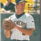 BJ SURHOFF 1987 Star Rookies #3.  BREWERS