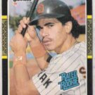 BENITO SANTIAGO 1987 Donruss Rated Rookie #31.  PADRES