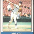 MIKE SCOTT 1987 Fleer Record Setters #36 of 44.  ASTROS