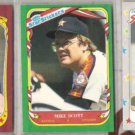 MIKE SCOTT 1986, 1987 + 1988 Fleer Star Stickers.  ASTROS