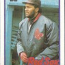 LEE SMITH 1989 Topps #760.  RED SOX
