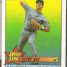 STEVE SAX 1989 Topps mini Star Sticker #39.  DODGERS
