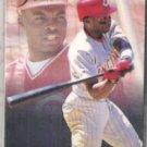 REGGIE SANDERS 1993 Fleer Flair #34.  REDS