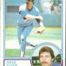 DAVE STIEB 1983 Topps #130.  BLUE JAYS