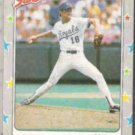 BRET SABERHAGEN 1988 Fleer Star  Stickers #32.  ROYALS