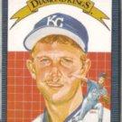BRET SABERHAGEN 1986 Donruss DK #11.  ROYALS