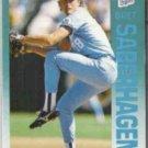 BRET SABERHAGEN 1992 Fleer #167.  ROYALS