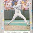 BRET SABERHAGEN 1988 Fleer Star  Stickers #32.  ROYALS
