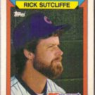 RICK SUTCLIFFE 1988 Topps KMart #30.  CUBS