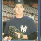 BOB TEWKSBURY 1986 Fleer Update #U-111.  YANKEES