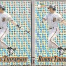 ROBBY THOMPSON (2) 1994 Pacific Prism #36.  GIANTS