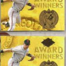ROBBY THOMPSON (2) 1994 Ultra Award Inserts #12 of 25.  GIANTS