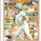RUBEN SIERRA 1990 Topps Glossy AS #19 of 22.  RANGERS