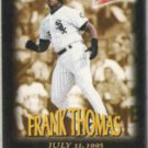 FRANK THOMAS 1997 Fleer Million$ Moments Ins. #32 of 50.  WHITE SOX